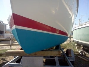 How To Paint A Boot Stripe On A Boat