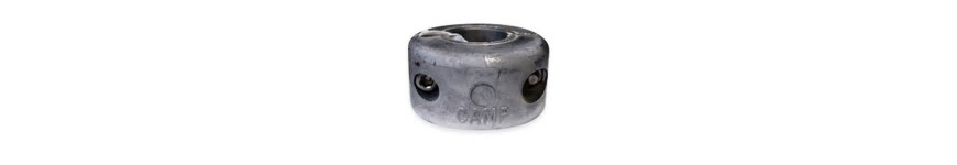 Donut Collar Zincs for Shaft, Metric