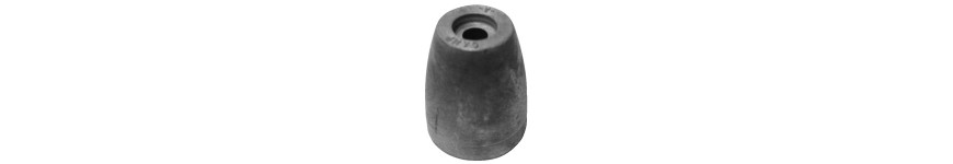 Propeller Nut Zinc Only
