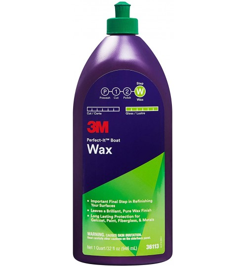 3M™ Perfect-It™ Boat Wax