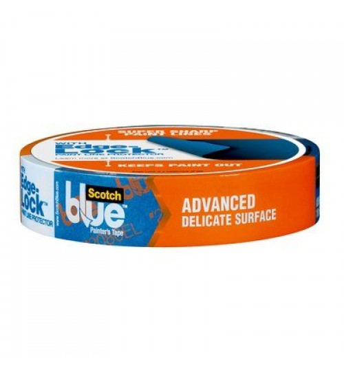"3M 2080 1"" Blue Safe Release Tape Roll"