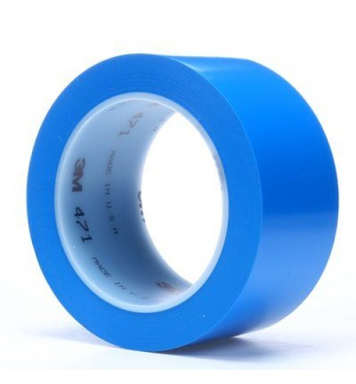 "3M 471 2"" Blue Vinyl Tape Roll"