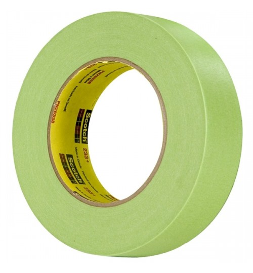 Scotch Performance Masking Tape 233+, 26334, 18 mm x 55 m