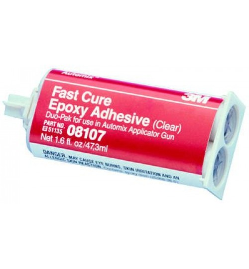 3M Automix Fast Cure Epoxy Adhesive, 08107, 2 oz pack
