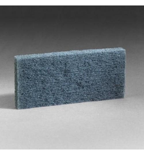 3M Doodlebug Blue Scrub Pad 8242, 4.6 in x 10 in, 5 per box