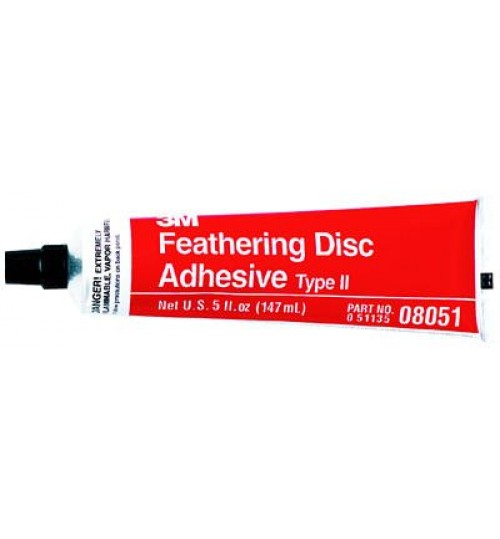 3M Feathering Disc Adhesive (Type 2), 08051, 5 oz Tube