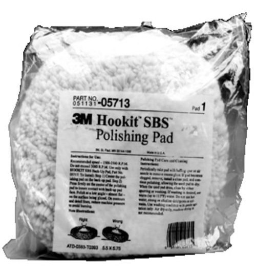 3M Hook It, 5713, Polish Pad 9 in