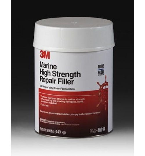 3M Marine High Strength Repair Filler, 046013, 1 Quart
