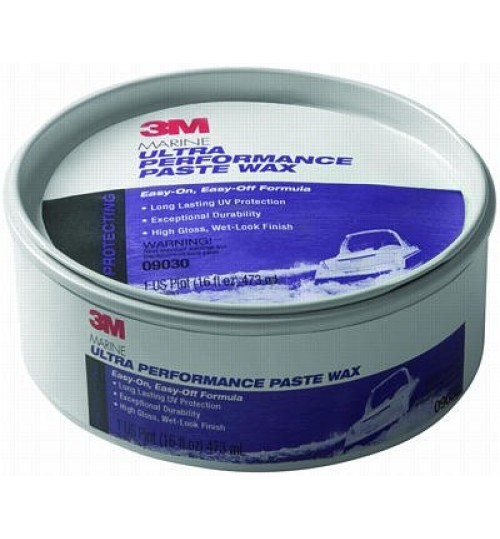 3M Marine Ultra Performance Paste Wax, 09030, 9.5 oz