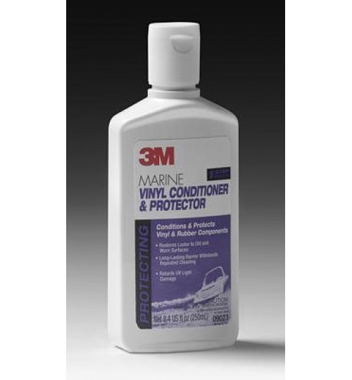 3M Marine Vinyl Cleaner, Conditioner and Protector, 09023, 8oz