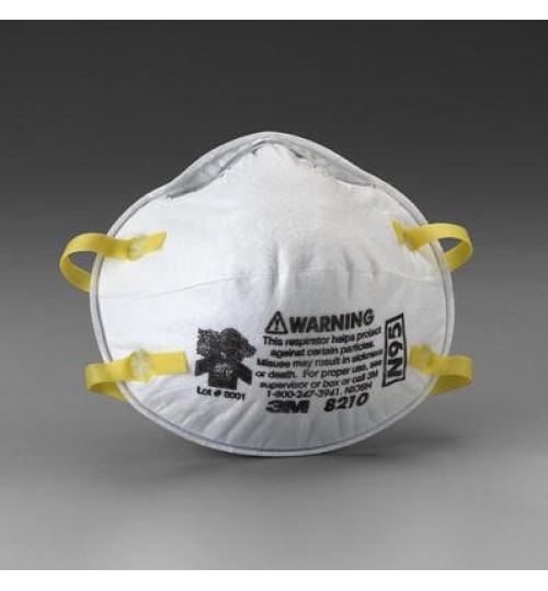 3M Particulate Respirator 8210, N95, 20 per Box