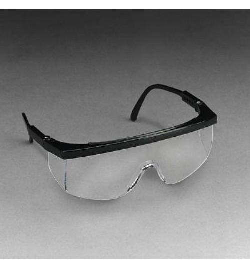 3M Protective Eyewear 1710/37104(AAD), Black Frame, Clear Lens