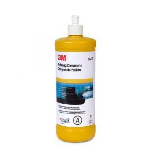 3M Rubbing Compound, 05973, 1 Quart