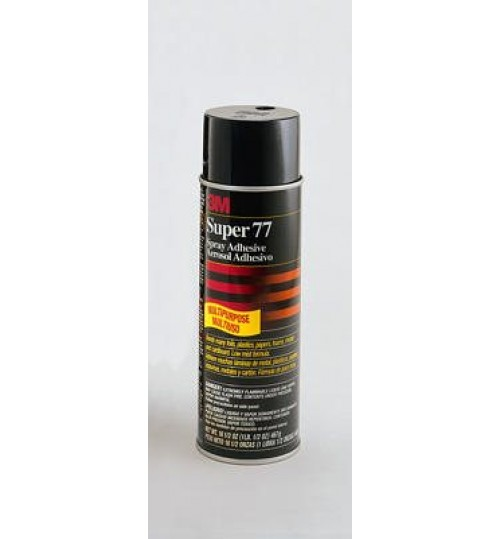 3M Super 77 Spray Adhesive, 21210, 24 oz Aerosol