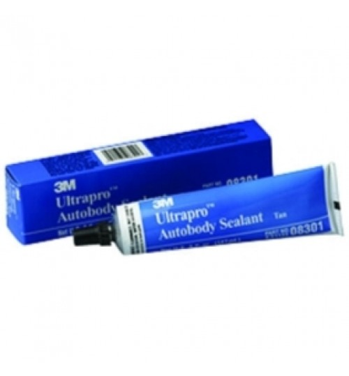 3M Ultrapro Autobody Sealant, 08301, Tan, 5oz Tube