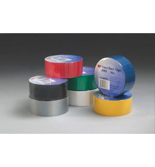 3M Vinyl Duct Tape 3903 Gray 06984, 2 in x 50 yd
