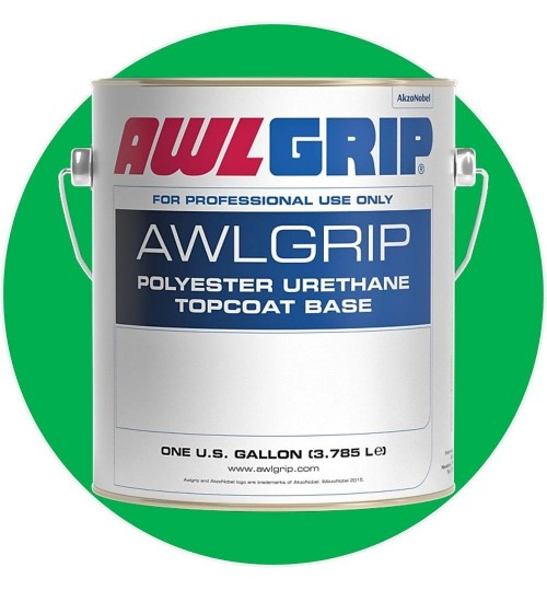 AwlGrip Topcoat Lime Green H4661