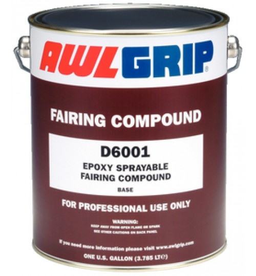 Epoxy Sprayable Fairing Compound D6001 GL
