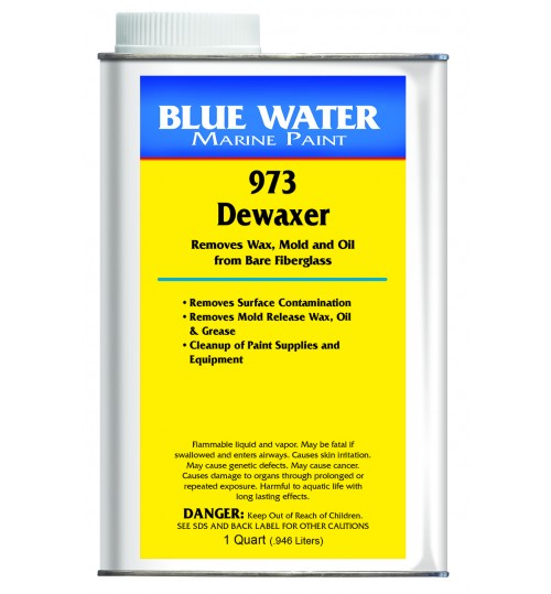 Blue Water Marine 973 Dewaxer