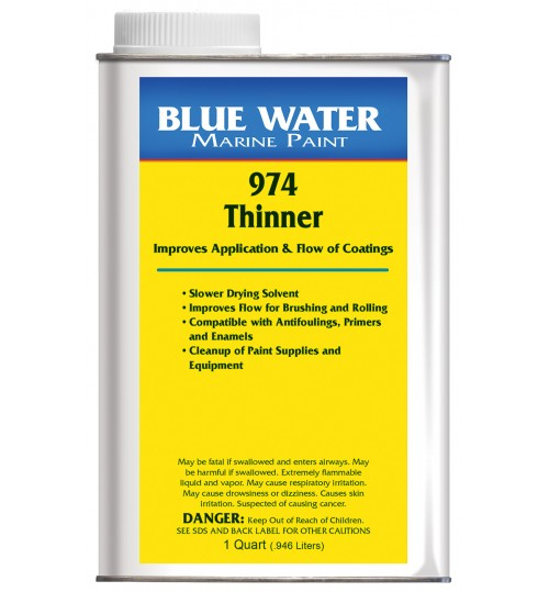 Blue Water Marine 974 Thinner
