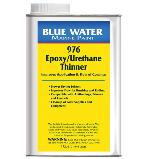 Blue Water Marine 976 Epoxy/Urethane Reducer