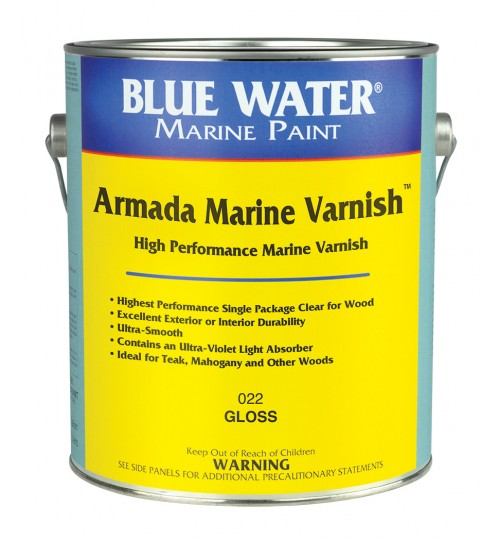 Armada Marine Varnish by Blue Water Marine Paints