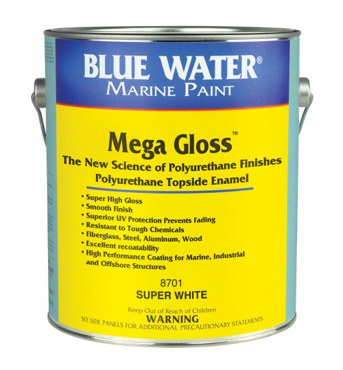 Blue Water Marine Mega Gloss Polyurethane Gallon