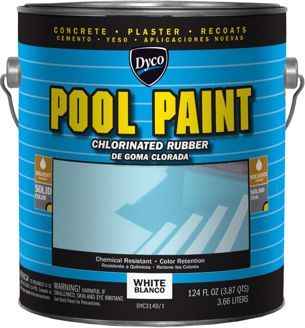 DYCO 5 Gallon Chlorinated Rubber Pool Paint