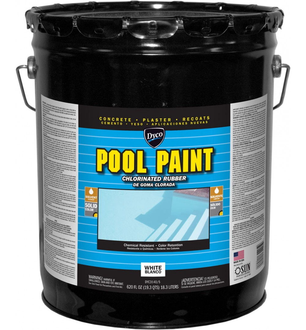Chlorinated Rubber Paint White
