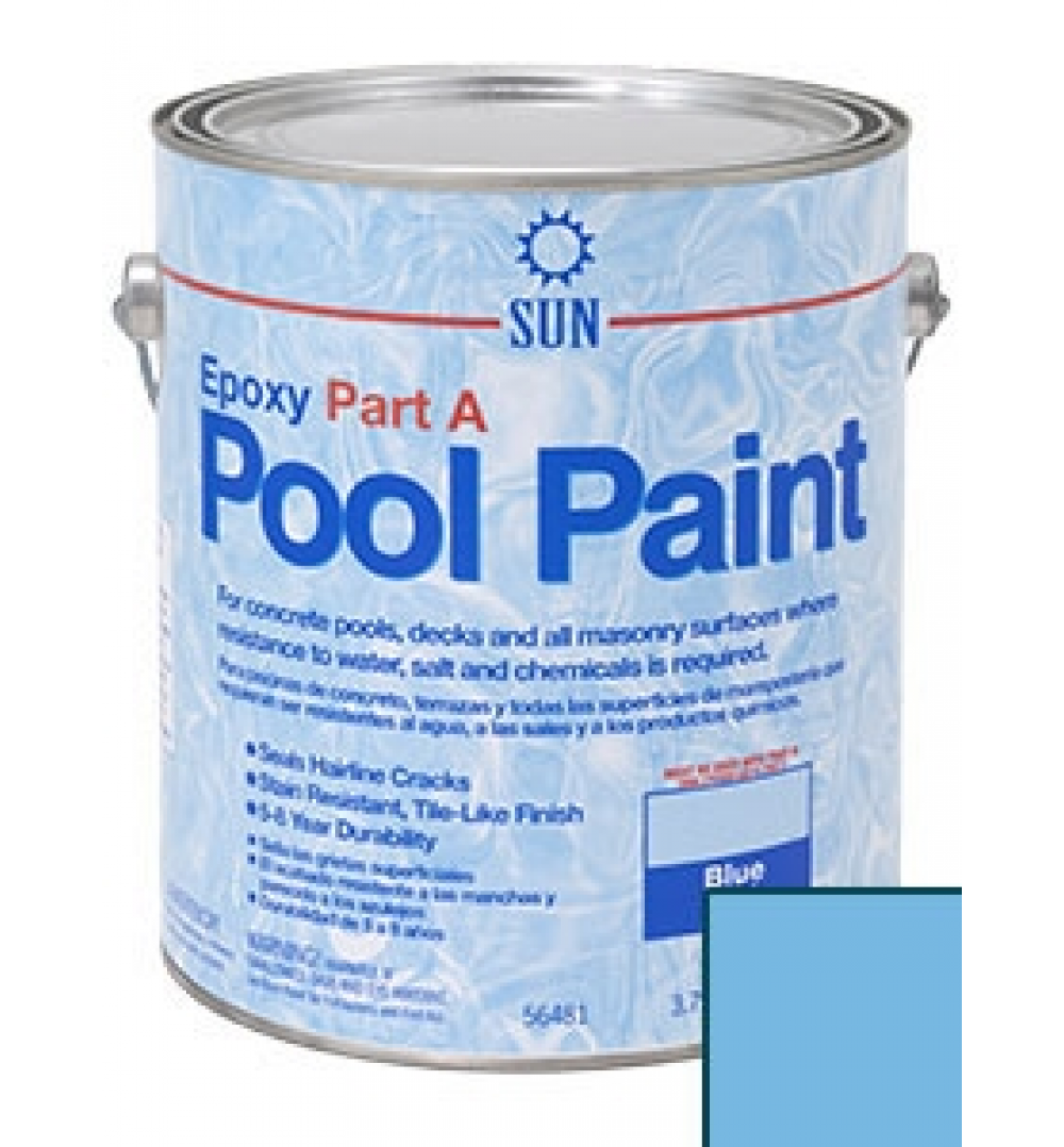 2 Part Epoxy Spray Paint : Part epoxy pool paint by sun paints and coatings