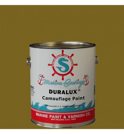 Duralux Camouflage Paint, Duckboat Drab, Gallon