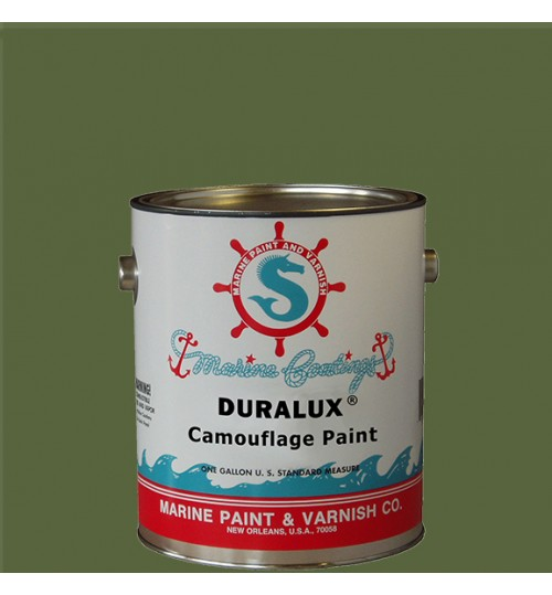Duralux Camouflage Paint, Pirouge Green, Gallon