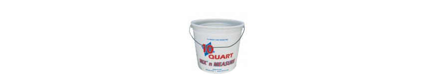 Mix n Measure Plastic Pails