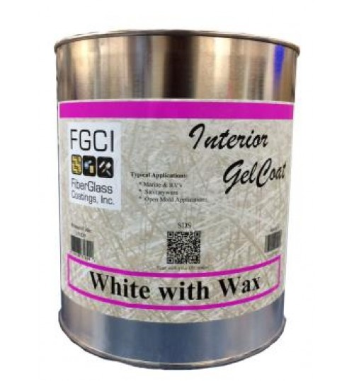 FGCI Interior Gelcoat with Wax, Gallon