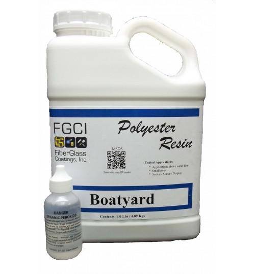 Boatyard Polyester Resin, Gallon