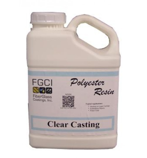 Clear Casting Polyester Resin, Gallon