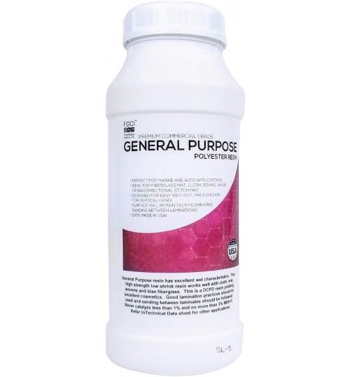 General Purpose Polyester Resin, Quart