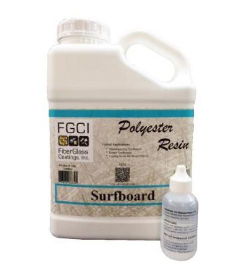 Surfboard Polyester Resin, Gallon