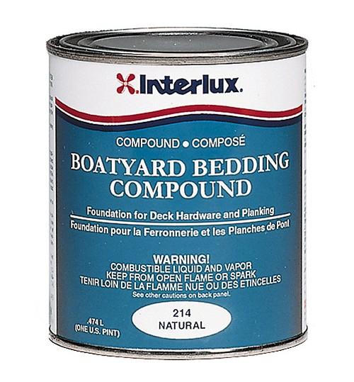 Interlux Boatyard Bedding Compound 214