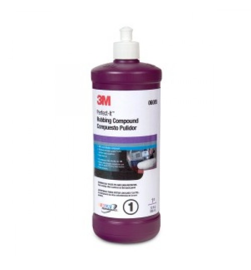 3M™ Perfect-It™ Rubbing Compound, Quart, 06085
