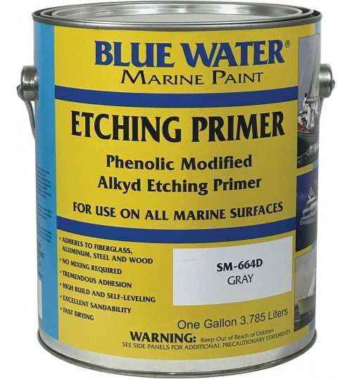 664D Etching Primer by Blue Water Marine