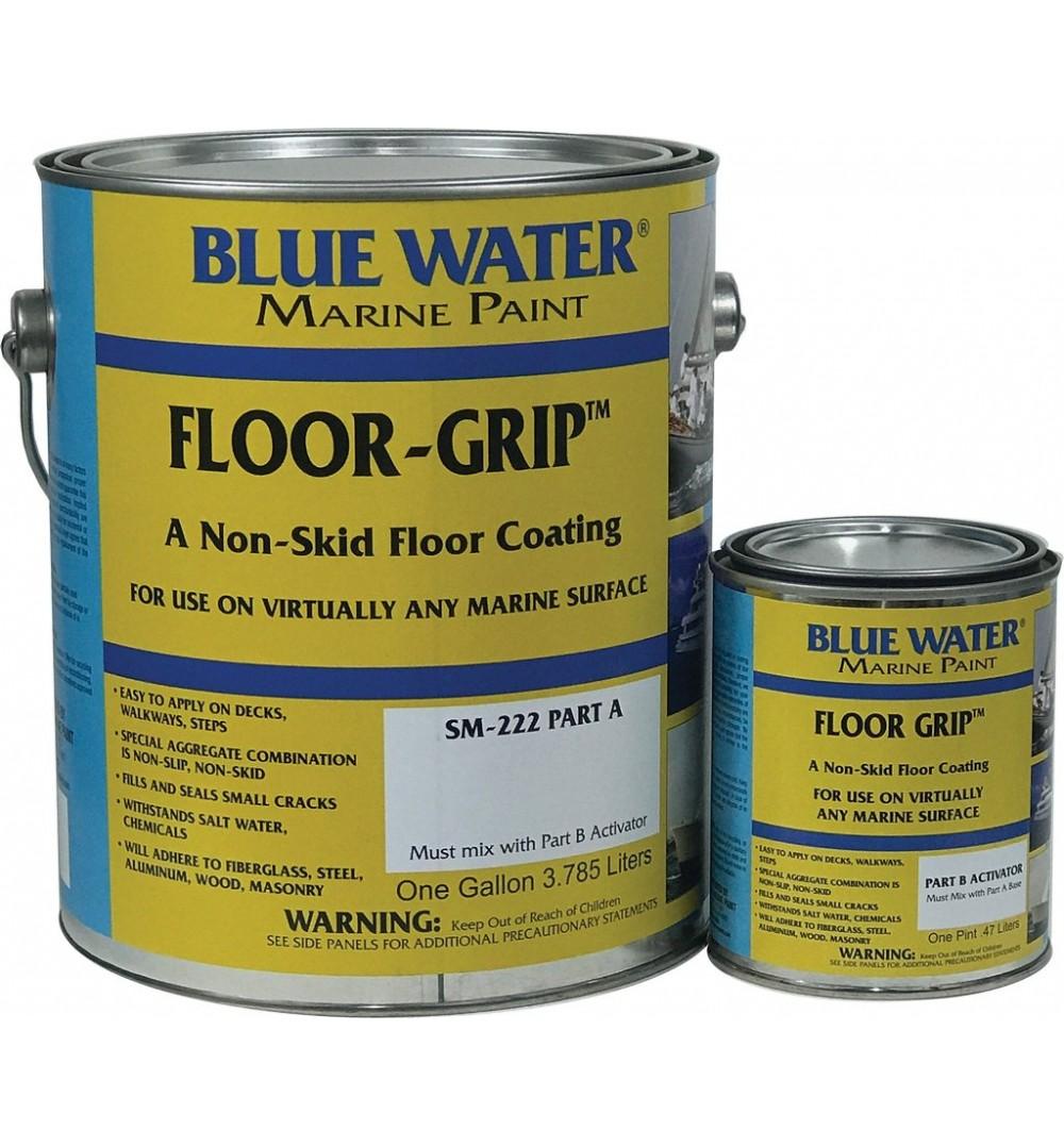 Floor grip non skid paint sm 222 for Boat non slip deck paint