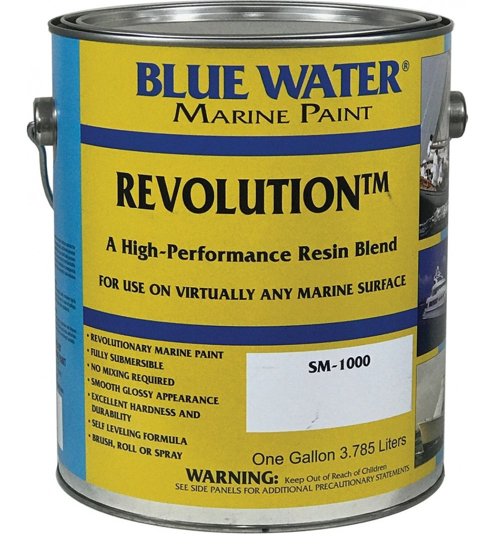 revolution quart by blue water marine paint