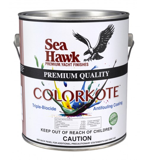 Sea Hawk ColorKote Triple Biocide Antifouling Power