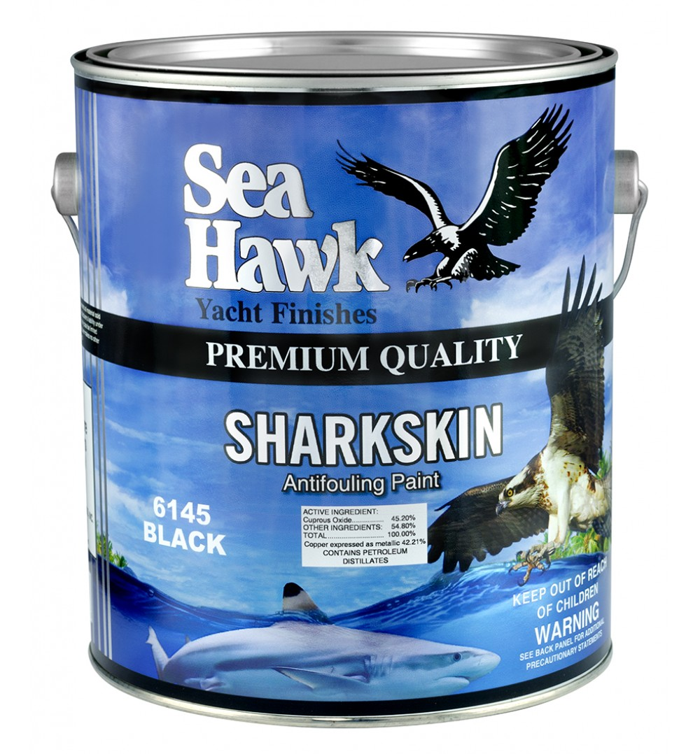 Sharkskin hard bottom paint sea hawk paints for Seahawk boat paint