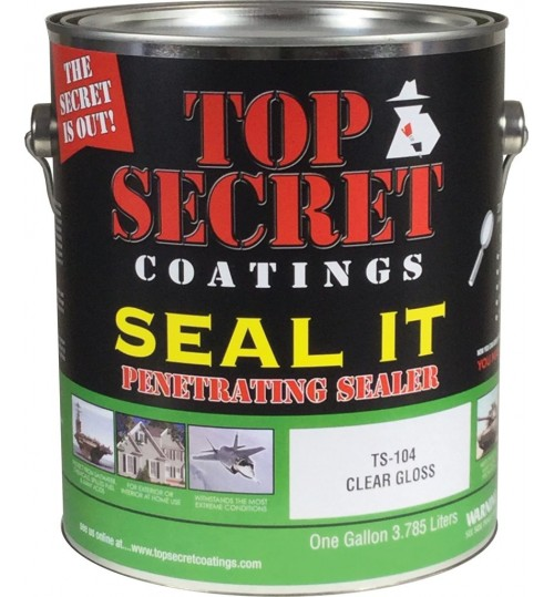 TS-104 Seal it! Deep Penetrating Sealer by Top Secret Coatings