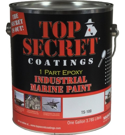 TS-100 Silicone Epoxy, Quart by Top Secret Coatings