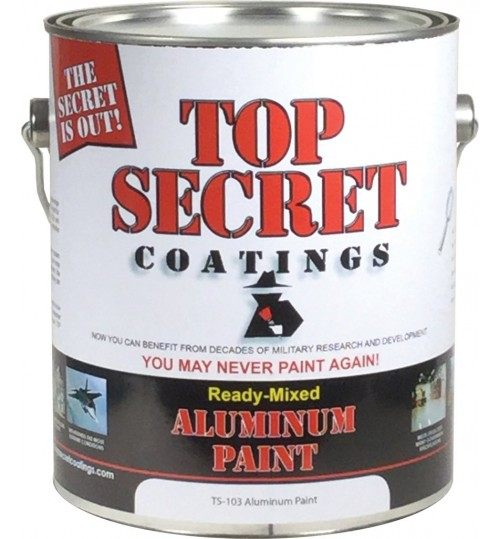 TS-103 Ready-Mixed Aluminum by Top Secret Coatings