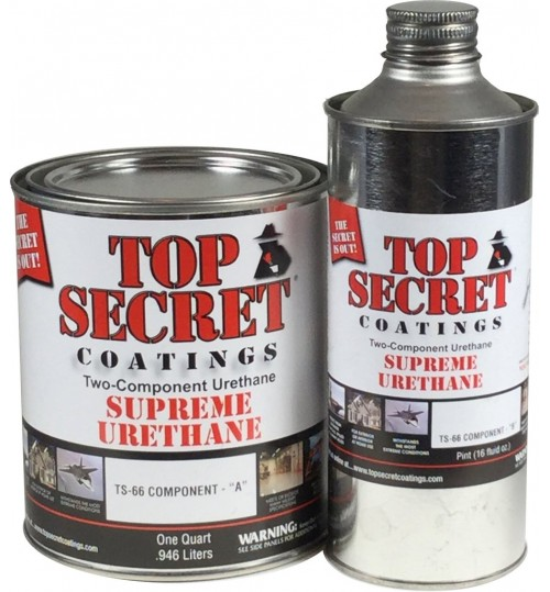 TS-66 Supreme Urethane, Quart Kit by Top Secret Coatings