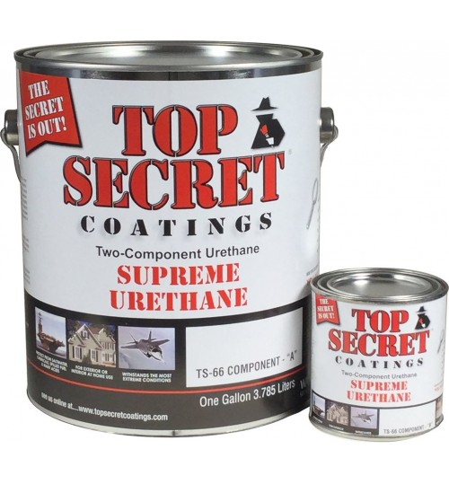 TS-66 Supreme Urethane, Gallon Kit by Top Secret Coatings